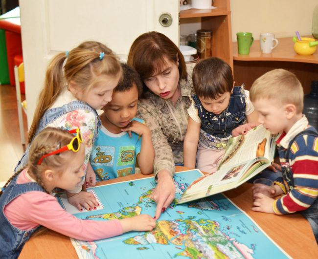 Социальная работа с детьми