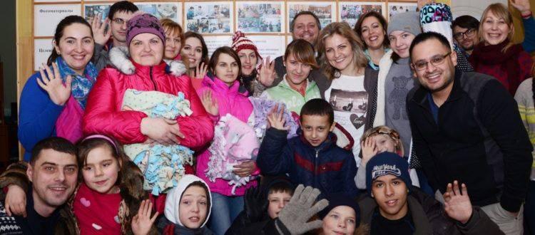 Гости из Пенсильвании в ОБФ «Дорога к Дому»