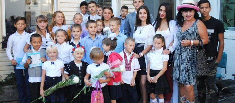 Воспитанники ОБФ «Дорога к Дому» пошли в школу.