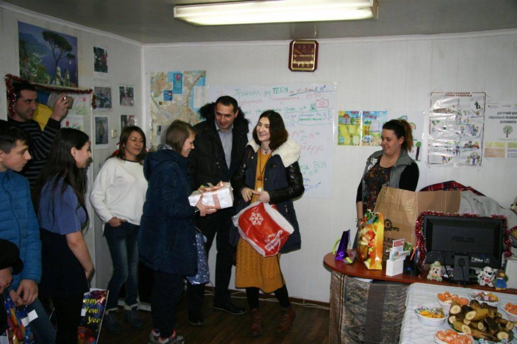 Центр «Открытые двери» поздравил своих посетителей