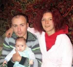 Счастливые родители Виталины