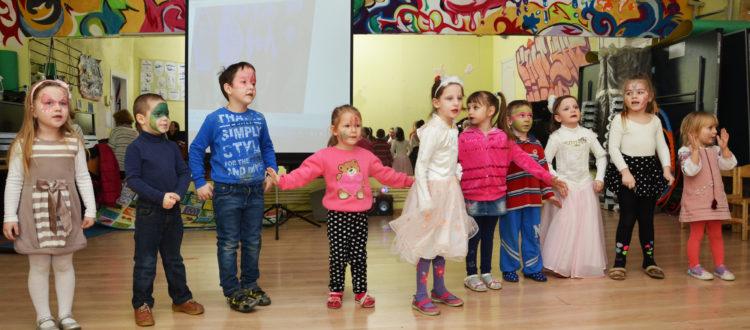 Дошкольники из фонда «Дорога к Дому» приняли участие в утреннике, приуроченном к началу весны.