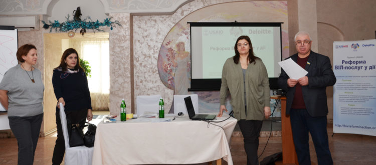 Family doctors and nurses of Belgorod-Dnestrovsk were taught how to perform HIV rapid-testing.