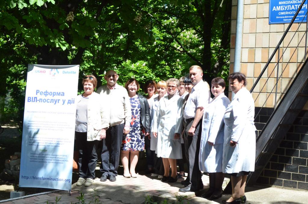 В четырех населенных пунктах Белгород-Днестровского района сдать тест на ВИЧ можно будет у семейного врача.