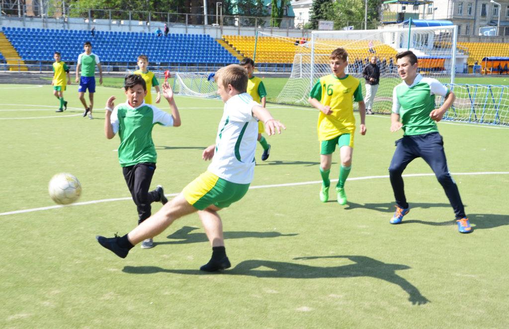 Дети из «Дороги к Дому» заняли второе место в футбольном турнире