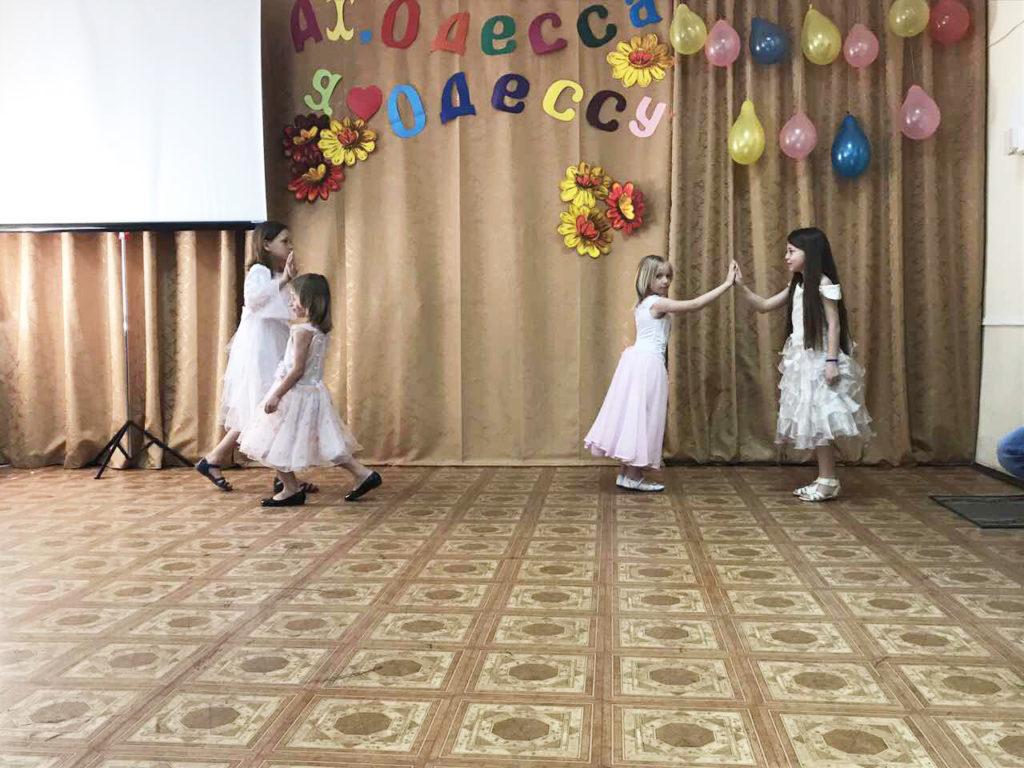 Малыши из «Дороги к Дому» побывали на выпускном в одесском Политехническом университете