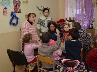 Social work with children. Gallery
