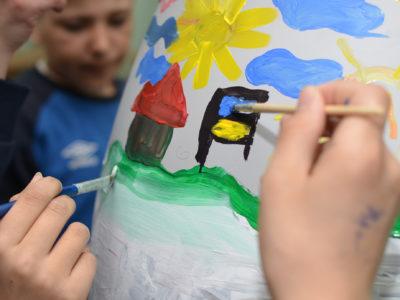 Социальная работа с детьми. Галерея