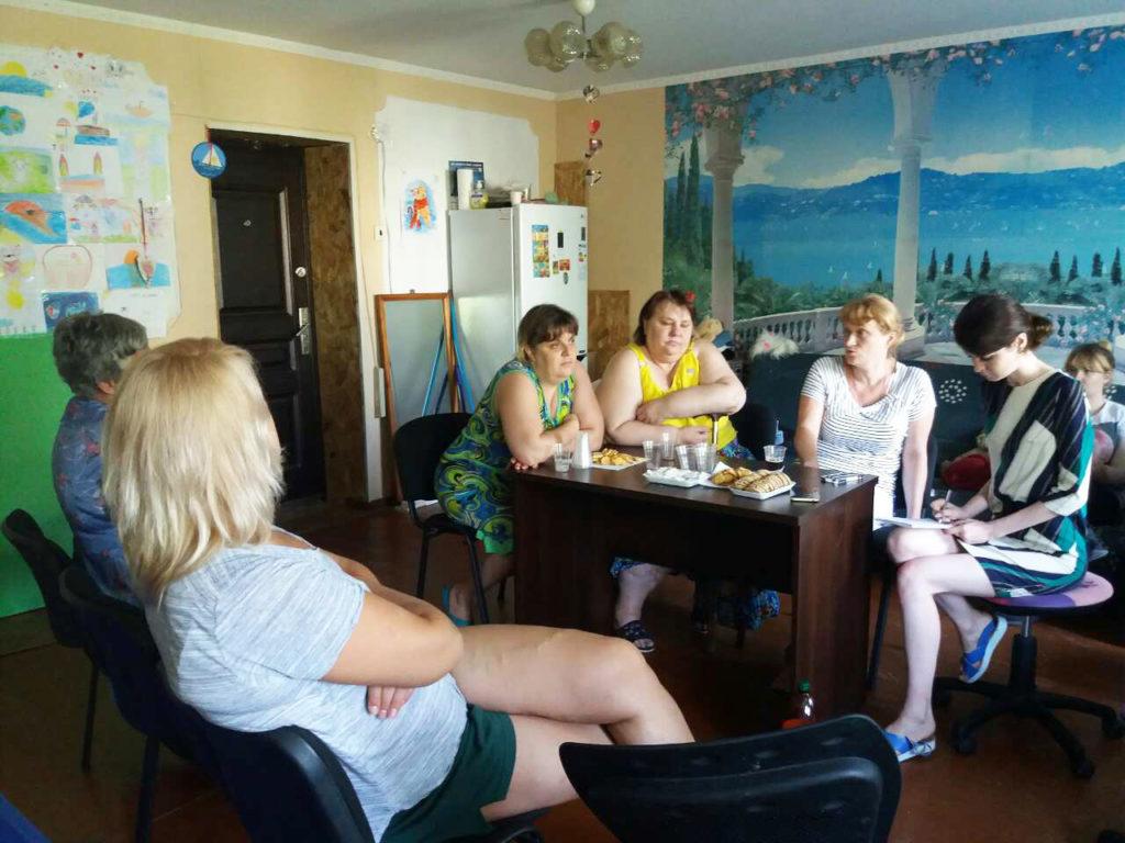 Женщины-переселенки из «Дороги к Дому», пережившие насилие, хотят реализовать социальный проект