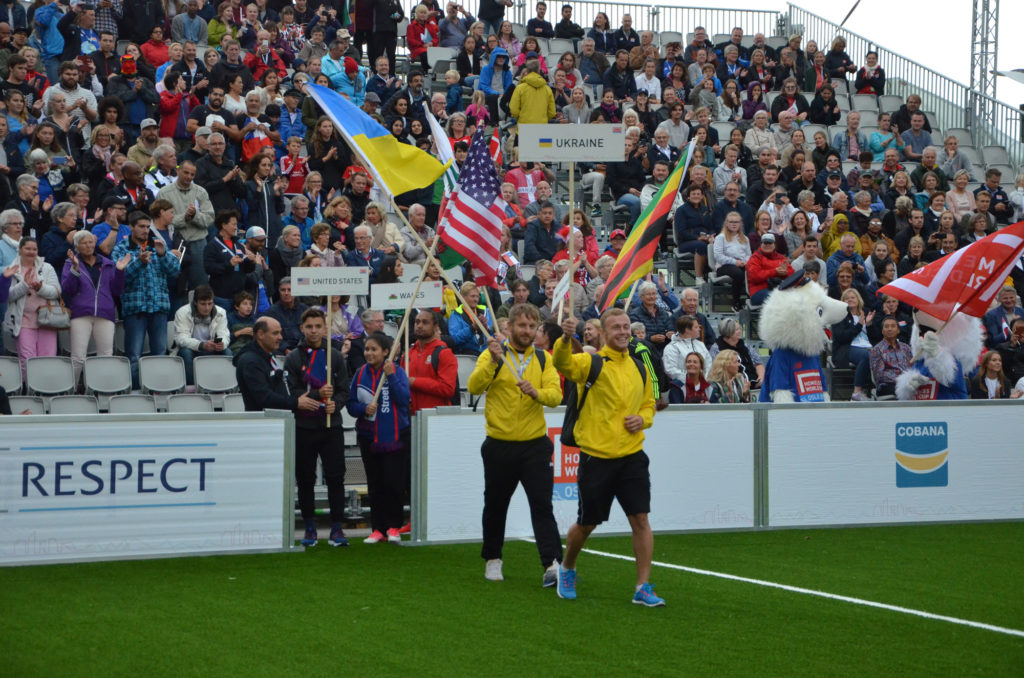 Украина начинаетHomeless World CupOslo 2017 с победы над командой Шотландии 5:3.