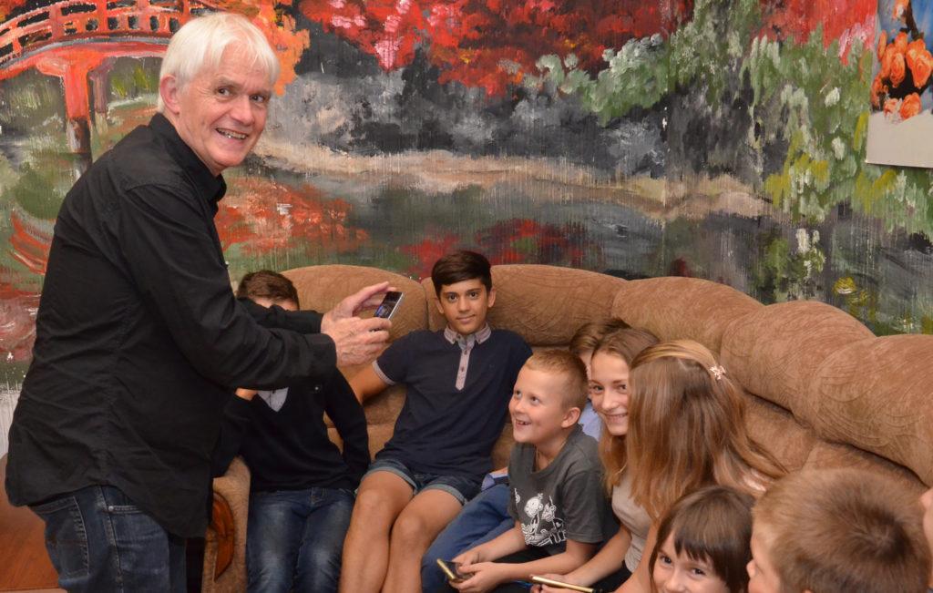 Дети из «Дороги к Дому» примут участие в съемках трейлера художественного фильма.