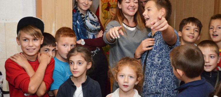 Воспитанники «Дороги к Дому» принимают гостей