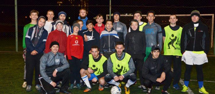 Дети из «Дороги к Дому» сыграли в футбол с командой из инжиниринговой компании BIIR.