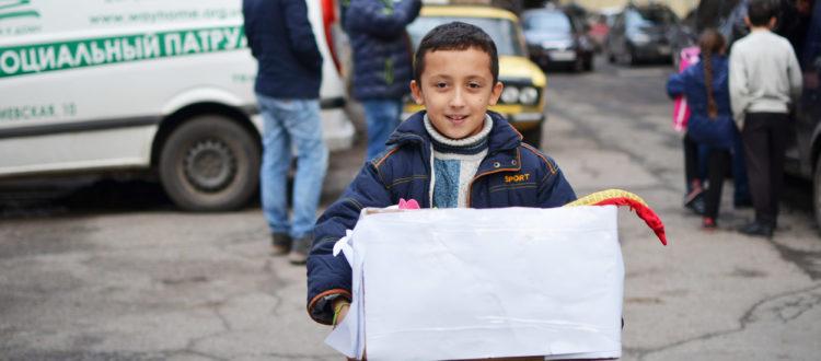 Детей из «Дороги к Дому» поздравили с праздником Святого Николая.