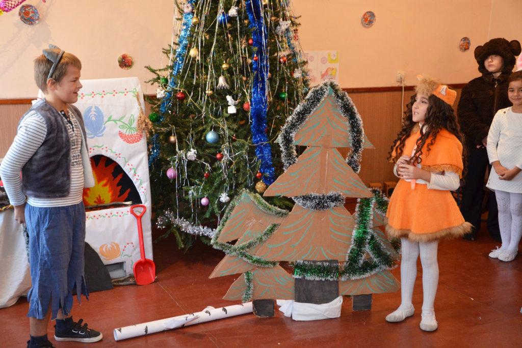 «Дорога к Дому» начинает серию новогодних праздников для своих воспитанников