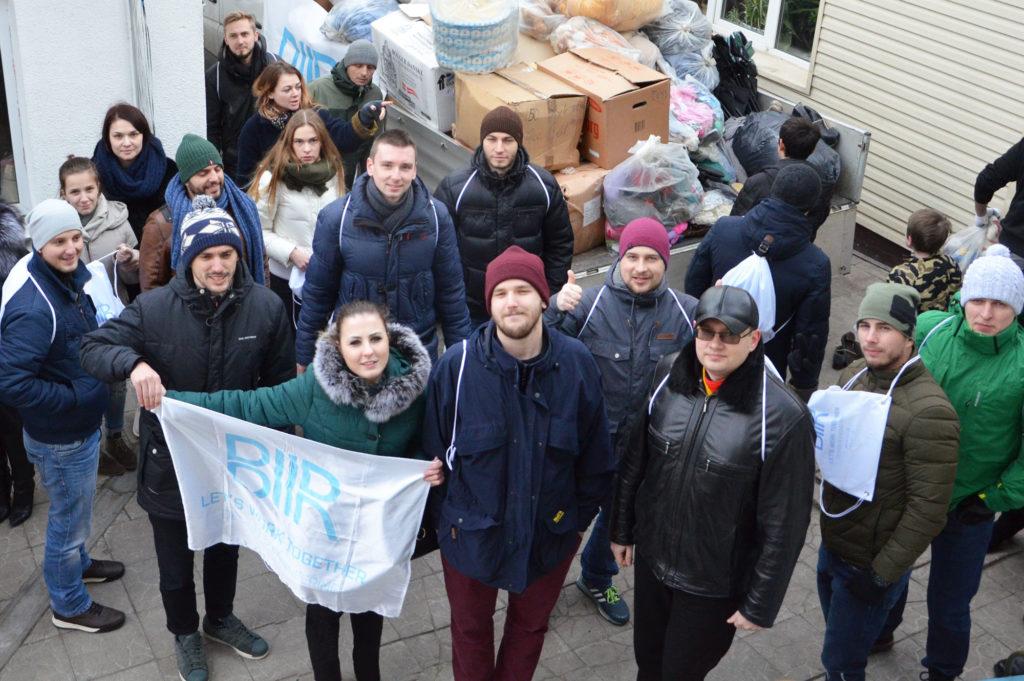 В «Дорогу к Дому» прибыли 6 тонн гуманитарной помощи из Дании