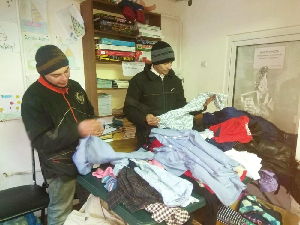 Фонд «Дорога к Дому» раздает гуманитарную помощь