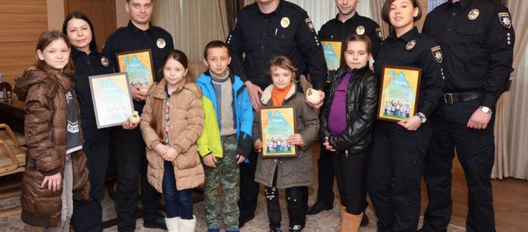 Дети из «Дороги к Дому» побывали в гостях у патрульной полиции Одессы
