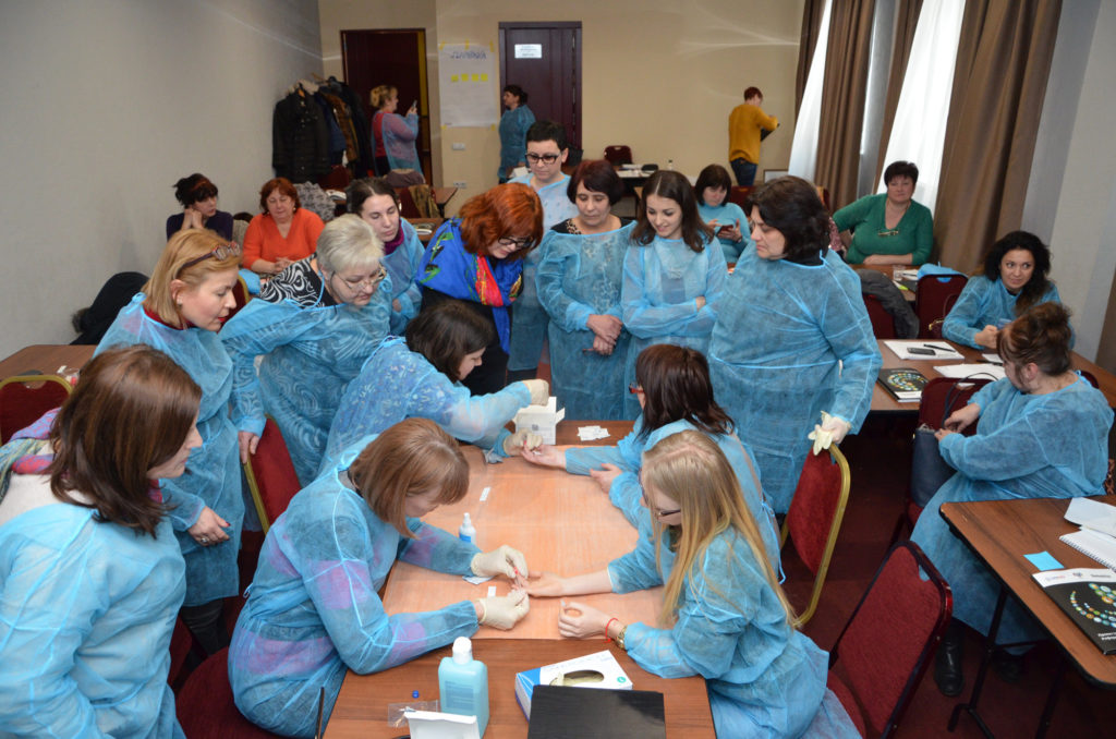 125 family doctors and medical sisters of Odessa city medical centers will learn to lead HIV testing.