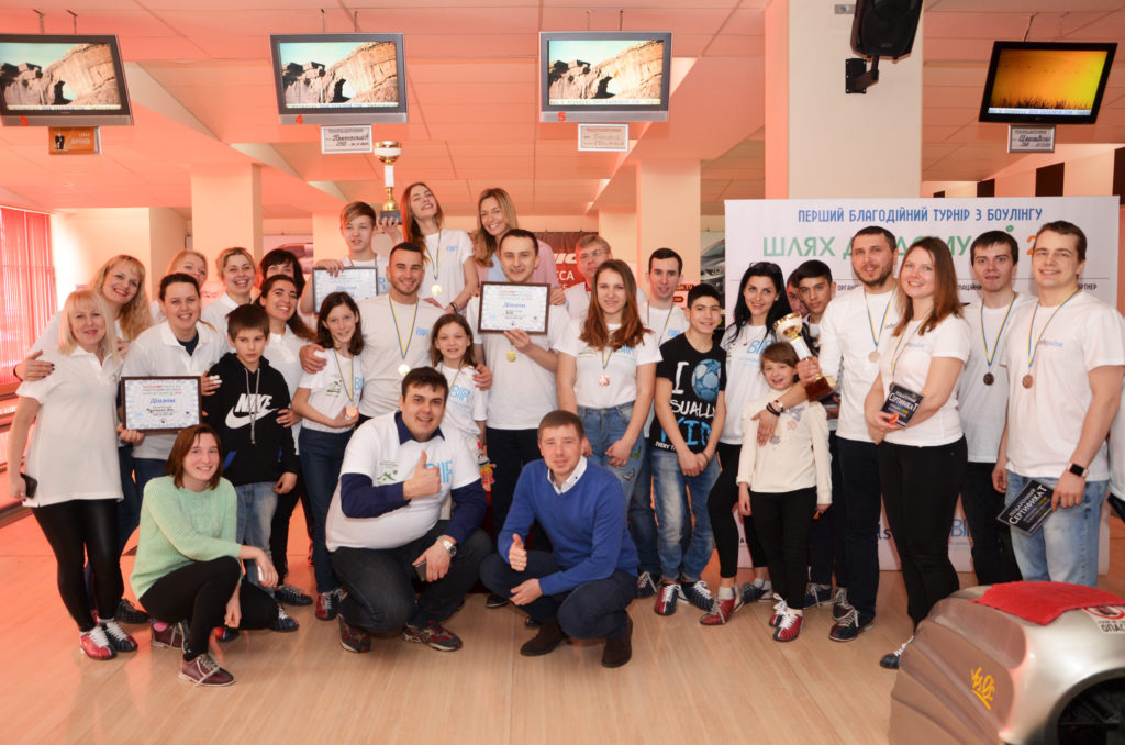 """Strike""! The charity bowling tournament took place!"