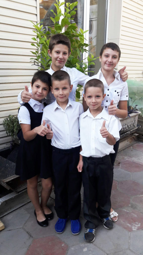Подопечные «Дороги к Дому» пошли в школу!