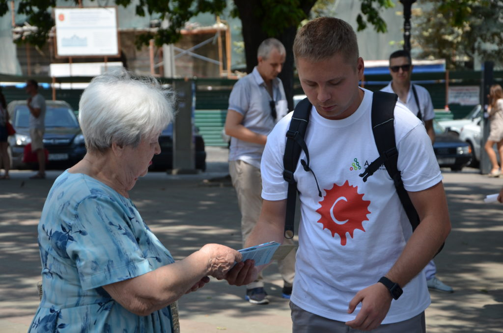 ОБФ «Дорога к Дому» стал со-организатором просветительской акции, посвященной борьбе с вирусными гепатитами